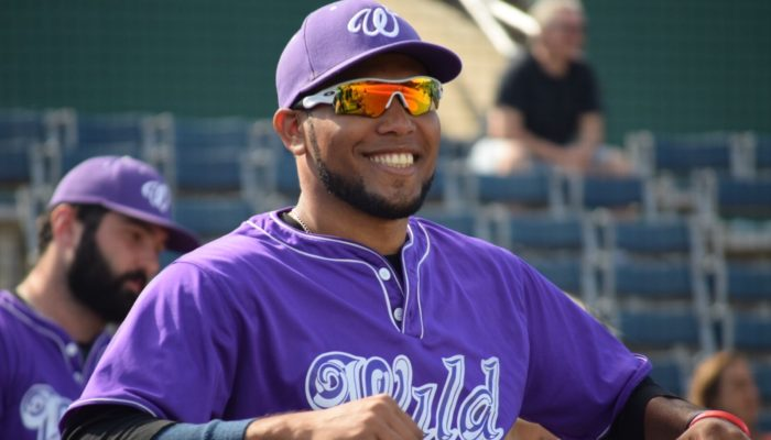 WILD SEND JORGE DE LEON TO GARY SOUTHSHORE RAILCATS OF THE AMERICAN ASSOCIATION