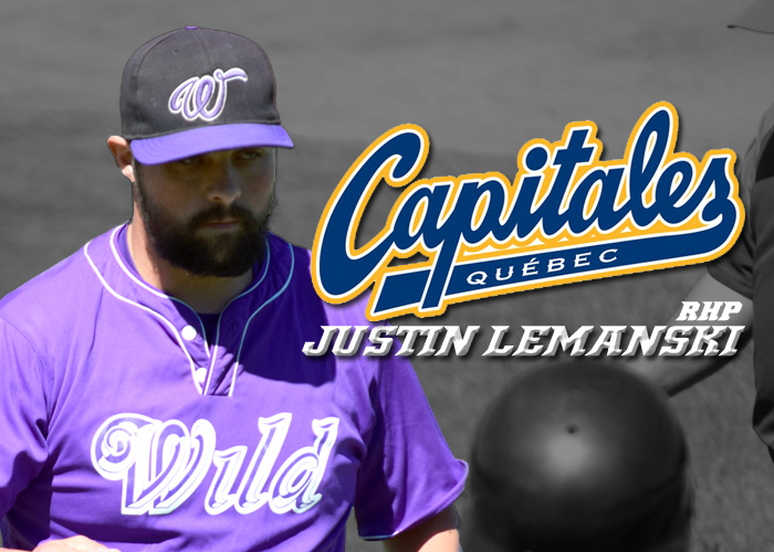 JUSTIN LEMANSKI MOVED TO QUEBEC CAPITALES OF THE CANAM LEAGUE