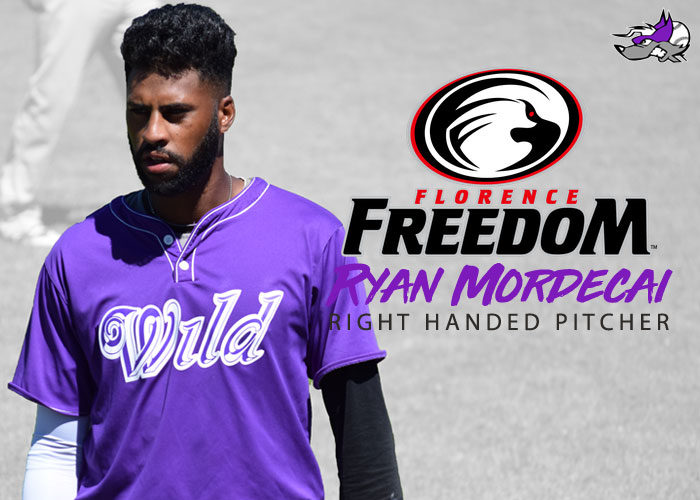 RHP RYAN MORDECAI SIGNS WITH THE FLORENCE FREEDOM
